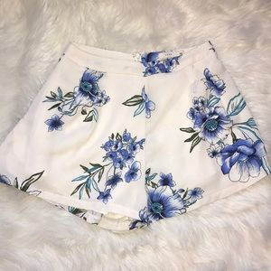 Floral Cloth Shorts